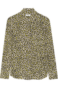 style by yellow button, sbyb, equipment, leopard print, animal print, shirt, net a porter, online, trend
