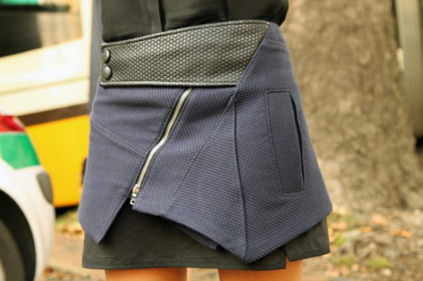 how to wear, where to buy, christine centenera, navy and black, proenza schouder, skirt, buy it, shop it, street style, women's fashion, style, fashion,