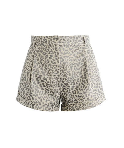 style by yellow button, lover, sbyb, leopard print, shorts, matchesfashion, animal print, trend,