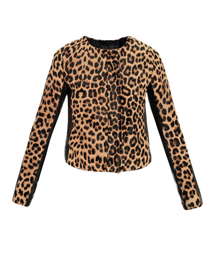 style by yellow button, A.L.C, matchesfashion, leopard print, animal print, jacket,