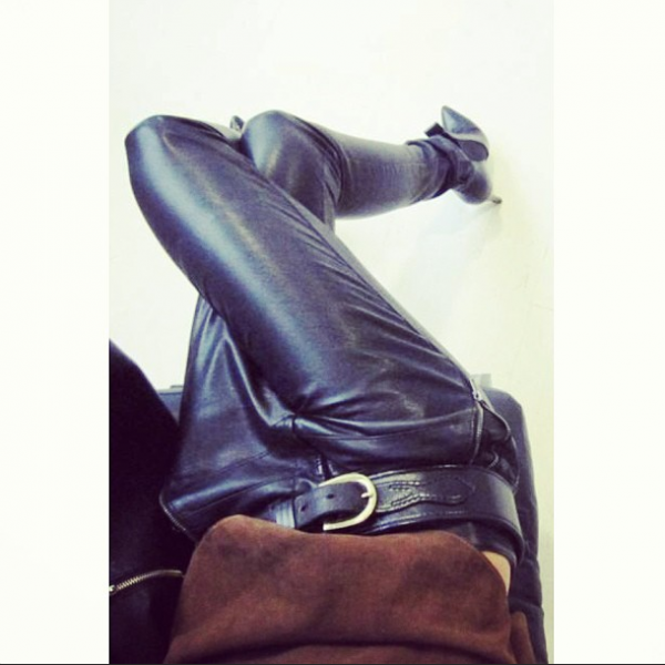 style by yellow button, sbyb, claire fabb, style, fashion, instagram, this week, leather
