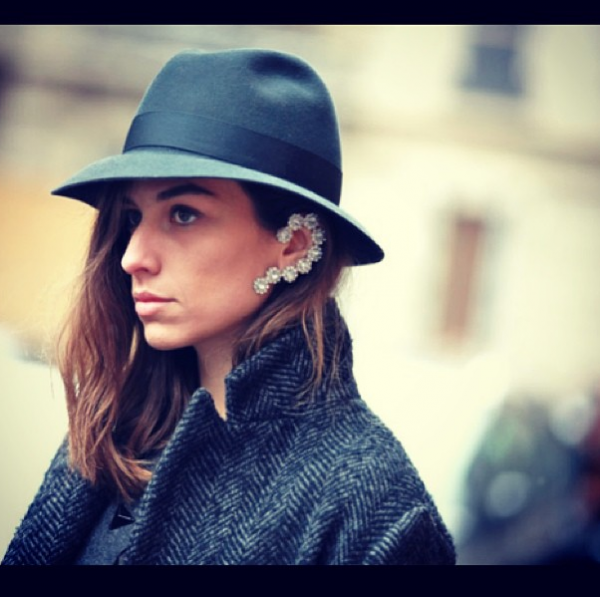 style by yellow button, sbyb, claire fabb, style, fashion, instagram, this week, trend, ear cuff, hat,