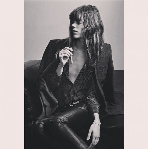 style by yellow button, sbyb, claire fabb, style, fashion, instagram, this week, saint laurent, hedi slimane, freja, model, campaign