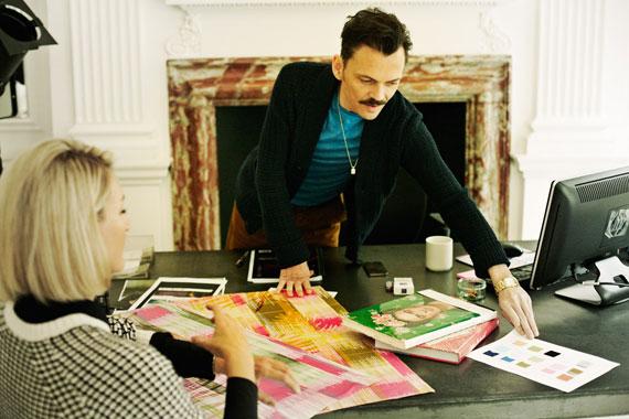 matthew williamson, claire fabb, vogue, spy style, blogger, style by yellow button, fashion, interview, profile, studio