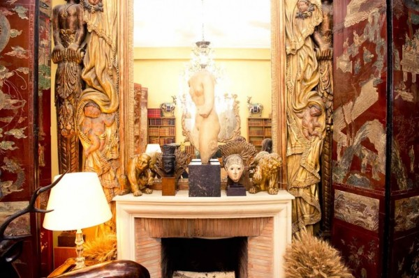 coco chanel, apartment, interior style, style by yellow button, sbyb, claire fabb, the coveteur