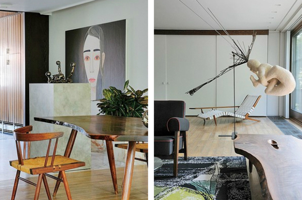 Raf Simons Mid Century Modernist Two Story Open Floor Plan Apartment In Antwerp Has Become His Sanctuary Trendland