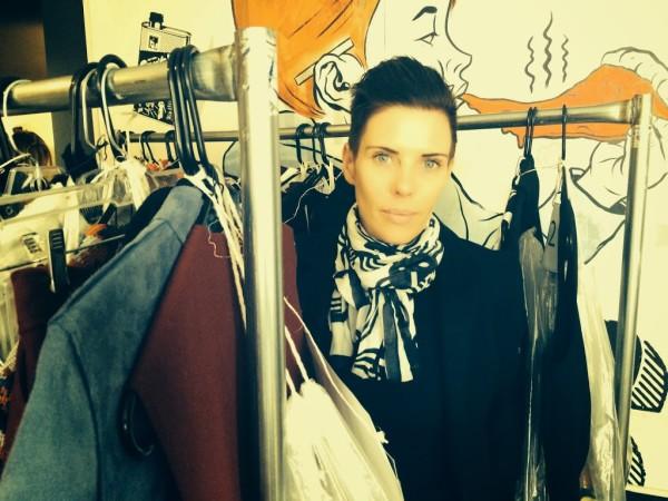 Karen Walker, New York Fashion Week, interview, Claire Fabb, New York, 2014, designer, fashion, style,