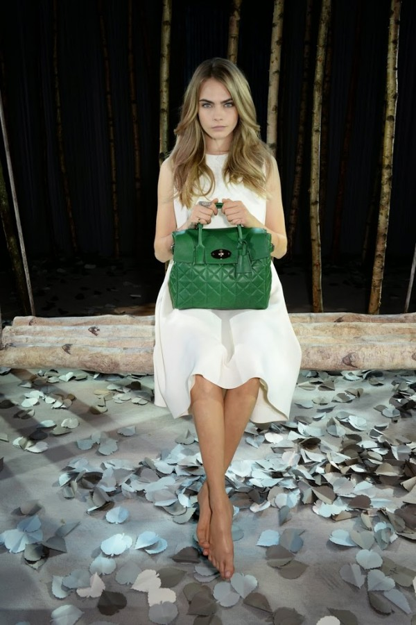 cara delevingne, Mulberry,  launch, london Fashion Week, LFW, collection, style, fashion, sbyb,