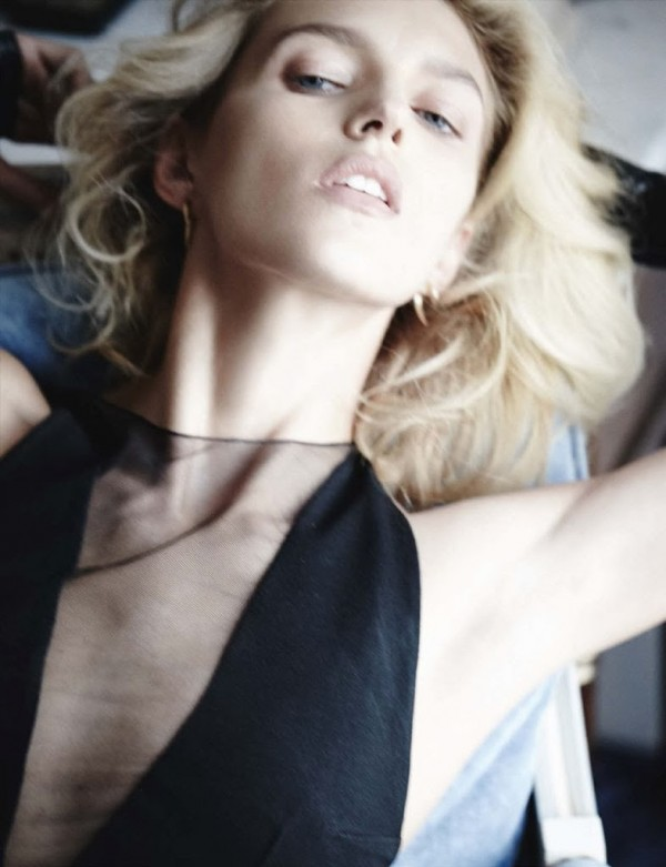 Anja Rubik, Mario Testino, Vogue, 2014, model, magazine, Vogue Germany, style, fashion, sbyb