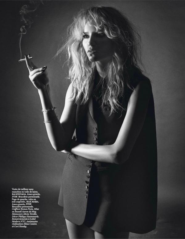 Natasha Poly, Mario Sorrenti, Vogue, Paris, March, 2014, Vogue Paris, model, editorial, style, fashion,