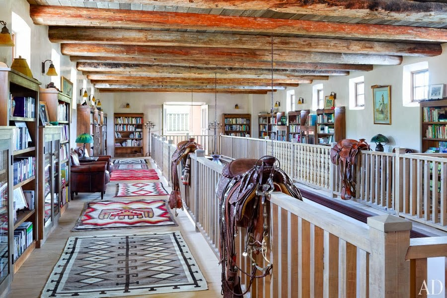 Interior Style Jane Fondas New Mexico Ranch Personal Stylist