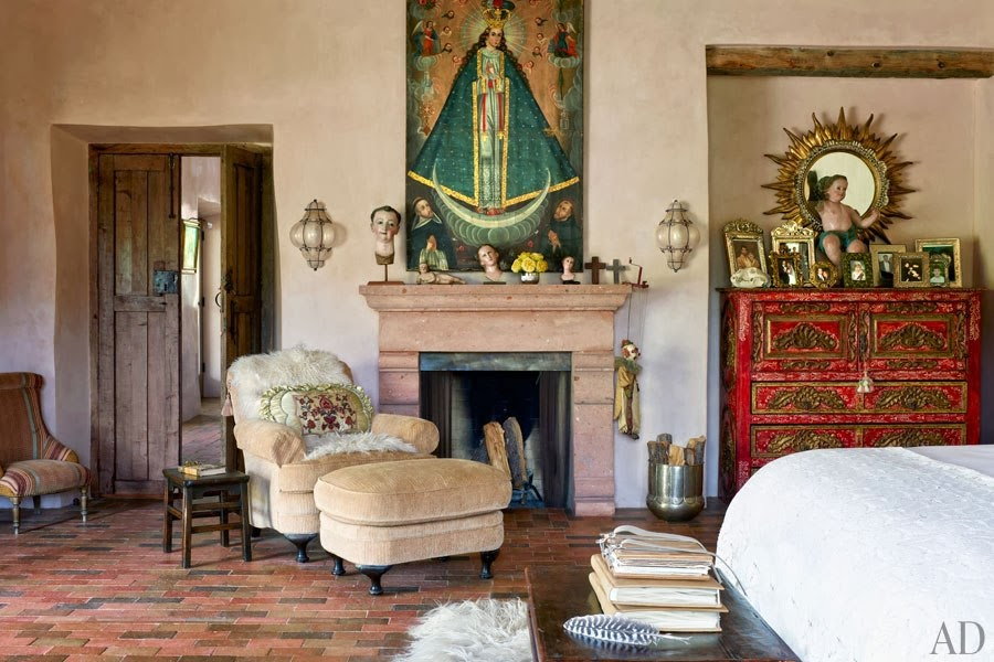 Interior Style Jane Fonda S New Mexico Ranch Personal