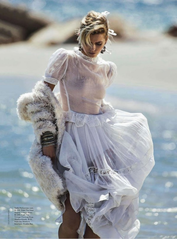 editorial, style, fashion, Abbey Lee Kershaw, model, Gilles Bensimon, Christine Centenera, Visual Optimism, Vogue, Australia, April, 2014, sbyb