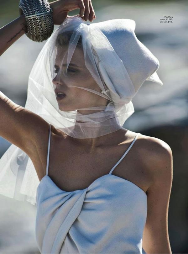 editorial, style, fashion, Abbey Lee Kershaw, model, Gilles Bensimon, Christine Centenera, Visual Optimism, Vogue, Australia, April, 2014, sbyb