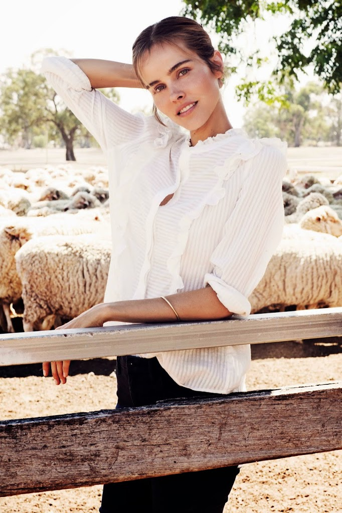 Country Road, Life Through Wool, Isabel Lucas, campaign, The Wool Company, 2014, CR, collaboration, film, behind the scenes, sbyb