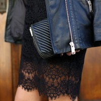 Leather and Lace. The ultimate fashion combination