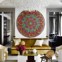 Interior Style: Urban Glamour in a Manhattan Townhouse