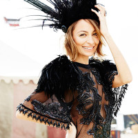 Nicole Richie for ELLE Australia July 2014