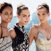 Vogue September Issue: #Instagirls: Joan Smalls, Cara Delevingne, Karlie Kloss, and more talk supermodels and Instagram