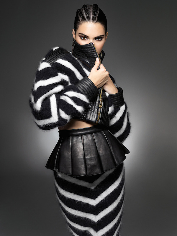 kendall jenner in balmain olivier rousteing for sunday times style, Kendall Jenner on the cover of Sunday Times Style, instagram, Style by Yellow Button, Kardashian, Kim Kardashian, Kendall Jenner, Keeping Up With the Kardashians