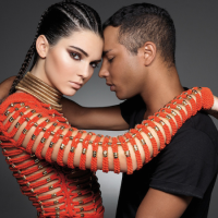 Follow Me: Kendall Jenner and Olivier Rousteing in Balmain for Sunday Times Style