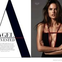 Angel Invested: Alessandra Ambrosio for Harper's Bazaar Australia