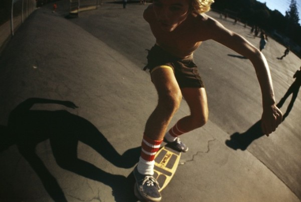 In Your Face (Jay Adams) Kenter Canyon 1976 © Hugh Holland co Blender Gallery