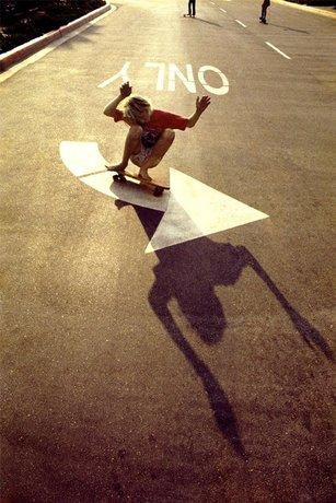 Left Turn Only, Orange County 1975 © Hugh Holland co Blender Gallery