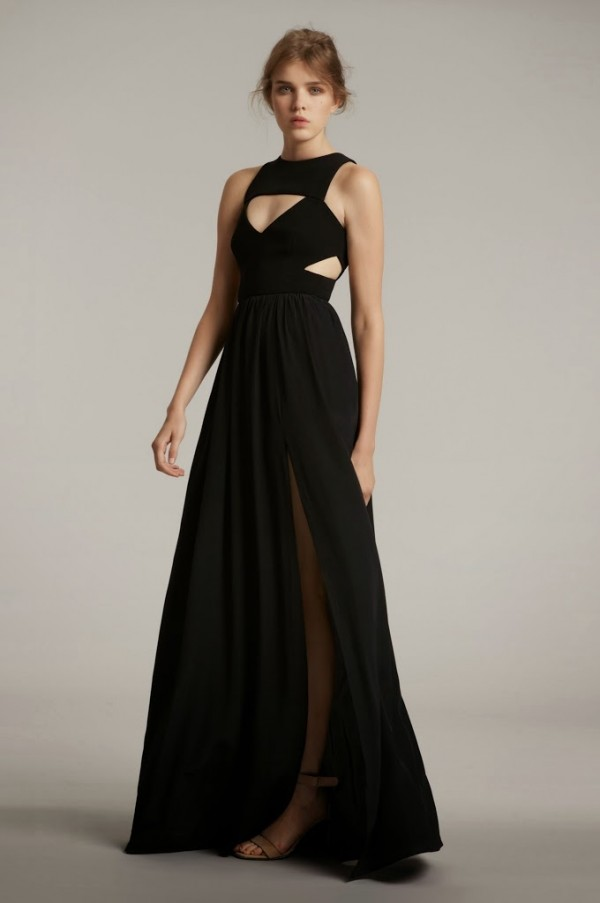 YB_DL_DOUBLE_CREPE_AND_SILK_SIGRID_DRESS_BLACK
