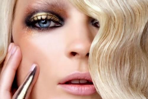 metallic-makeup