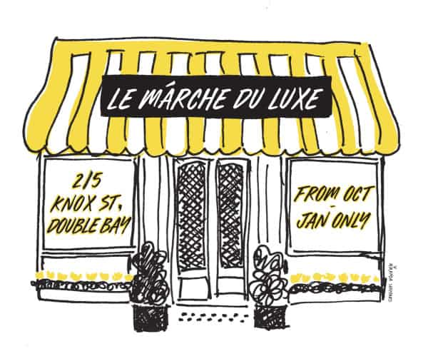 Visit Le Marché du Luxe in Double Bay for all your summer needs